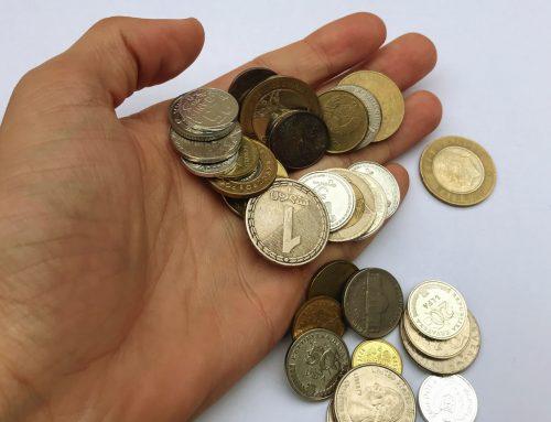 Kreditkarte und unterwegs zahlen